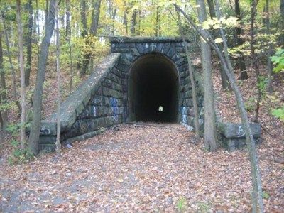 Boston and Maine Abandoned Tunnel - Clinton, MA - Abandoned Train Tunnels on Waymarking.com