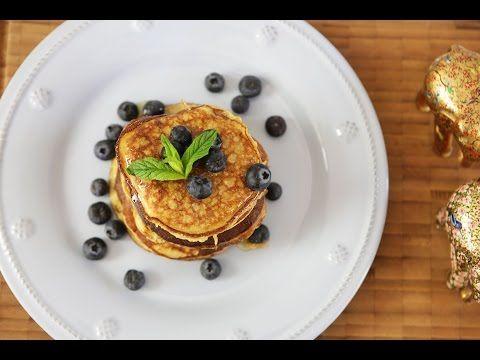 Hafif, Sağlıklı Pankek Tarifi - İdil Tatari - Yemek Tarifleri - YouTube