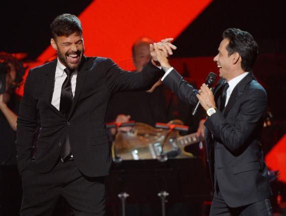 Onstage at the Latin Recording Academy's Person of the Year gala – @UPI Photos