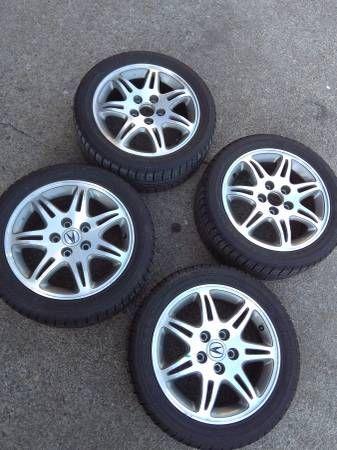 """16"""" 5×114.3 acura TL wheels (Salem) $300"""