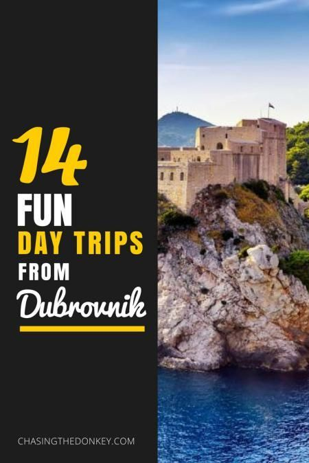 Croatia Travel Blog: Croatia's famous Game of Thrones city, Dubrovnik, is full of things to do and see. It also makes a great home base for exploring other areas of Croatia. Here are 14 fun day trip ideas to take from Dubrovnik. Click to learn more!