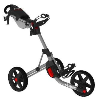 ProActive Clicgear 3.5+ Golf Push Cart - Grey - http://www.golfhq.com/accessories/push-pull-carts/clicgear-3-5-golf-cart-2013-model.html
