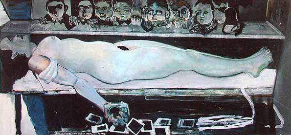 Zelfportret van het kwaad –Marlene Dumas
