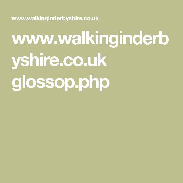 www.walkinginderbyshire.co.uk glossop.php