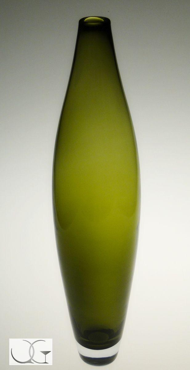 Wazon szklany Drzewko oliwne wysoki h-58