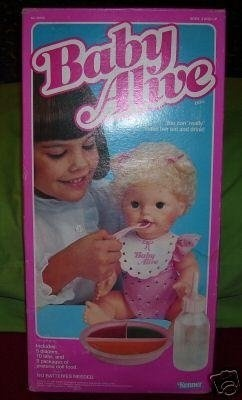 this doll was a dream for a little girl to have...and a nightmare for the parents who had to clean up after.