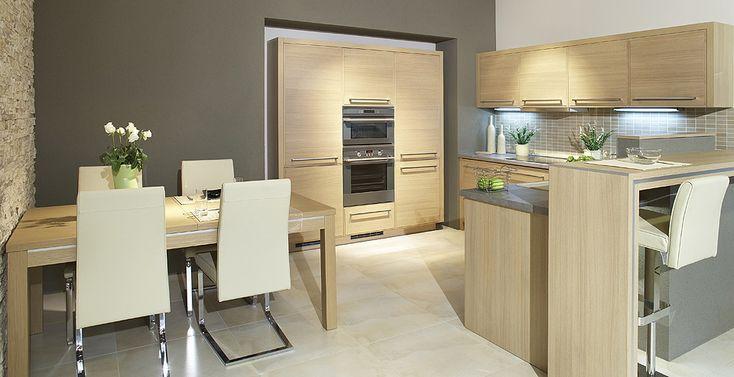 Dub Natur | fotogalerie moderní kuchyně | Sykora | Kuchyně nejvyšší kvality