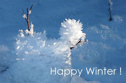 Happy Winters to All from HatHunter side! Enjoy....Winters