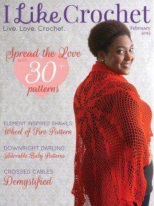 I Like Crochet Digital Magazine - Issue 2015 February (Valentine's Day)