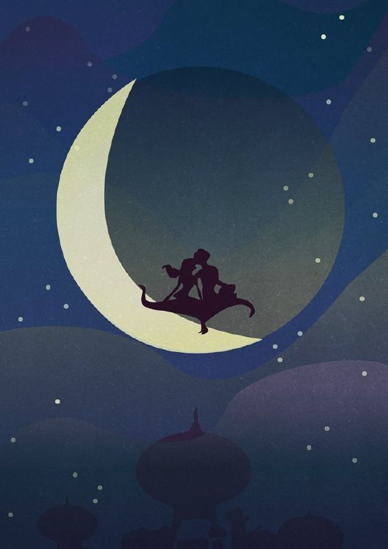 LOOK: These Stunning Disney Illustrations Will Make Your ...