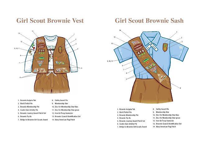 Girl Scout Brownie | Girl Scout Troop 1905: Brownie Sash and Vest