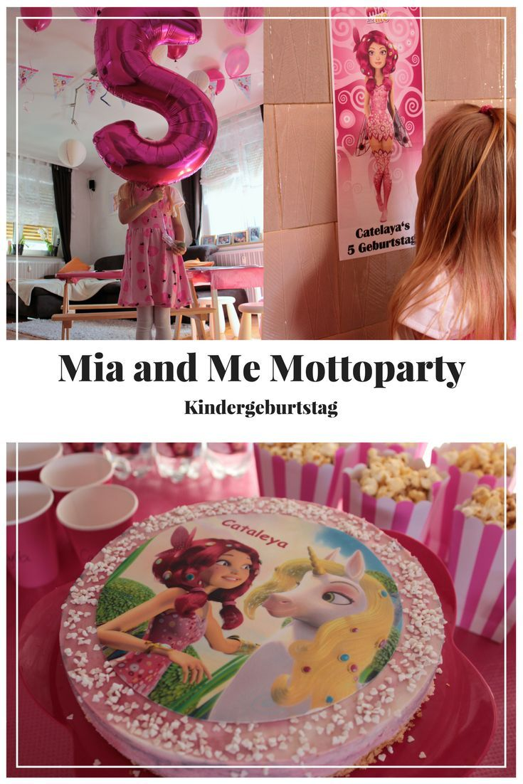 Ideen Mottoparty Kindergeburtstag Mia And Me Mottoparty Mit Mia And Me Torte Mia