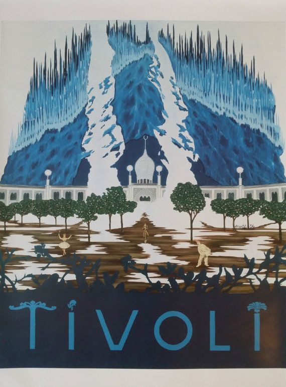 2006 Tivoli Amusement Park  Original Poster by OutofCopenhagen