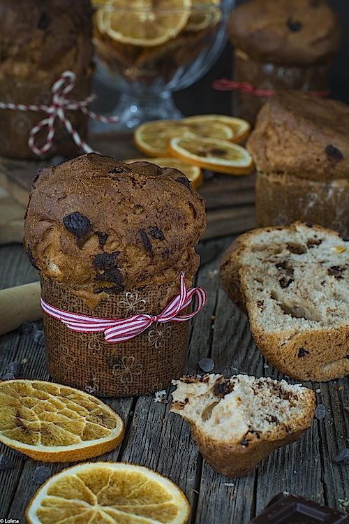 Panettone express y muy fácil. Mini panettones