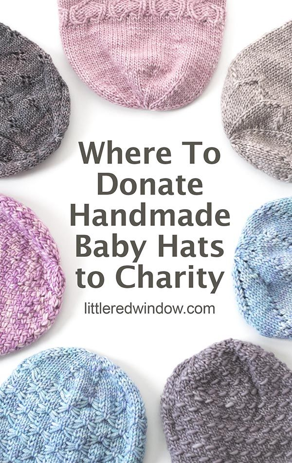Where To Donate Baby Hats To Charity Little Red Window Baby Hat Knitting Pattern Baby Hats Knitting Knitting For Charity