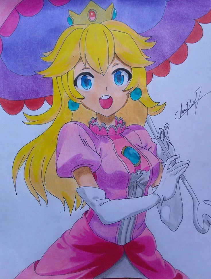 La Princesa Peach  #princesspeach #mario