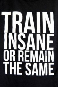 Train Insane Or Remain The Same! - Rugby Workout For Strength, Muscle And Speed