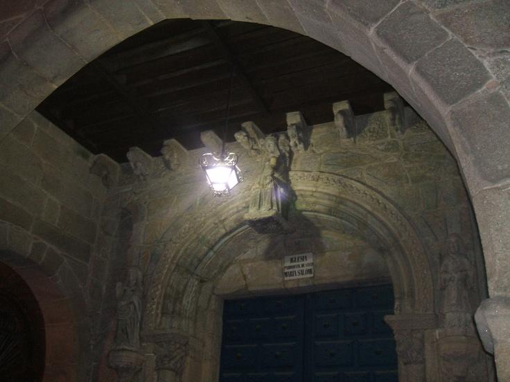 Iglesia de Salomé en Otoño
