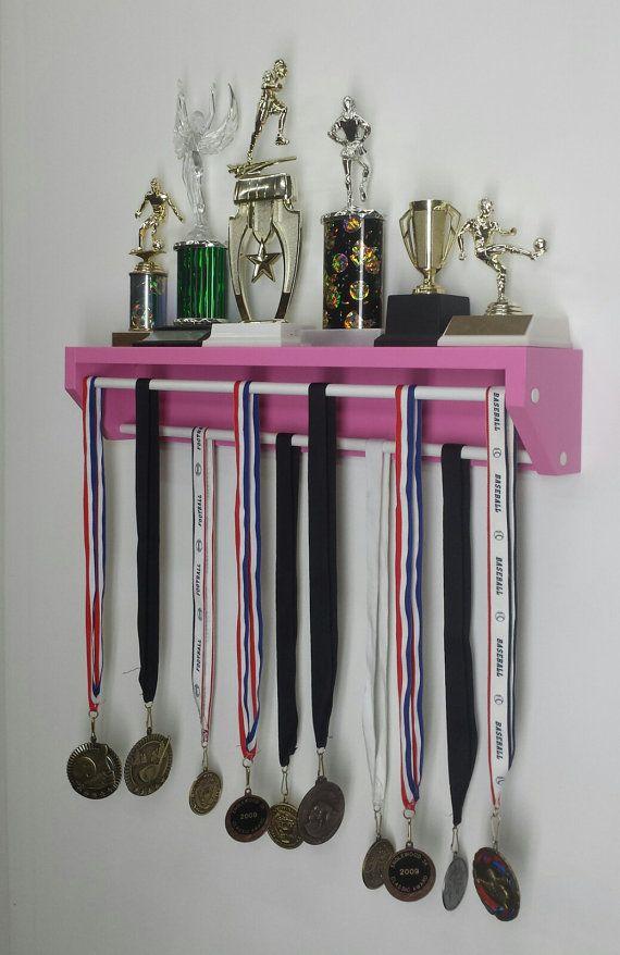 Trendy Trophy Display-Petite version pink. by TRENDYTROPHYDISPLAY