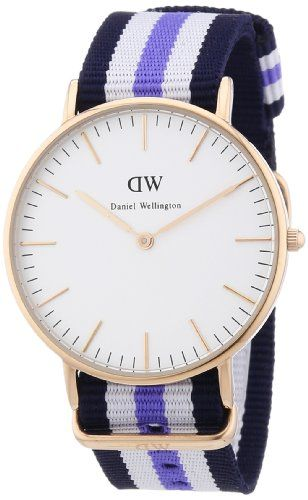 Daniel Wellington Women's Quartz Watch Classic Trinity Lady 0509DW with Plastic Strap | Your #1 Source for Watches and Accessories