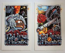 PHIL LESH AND FRIENDS - 2 POSTER SET - CAPITOL THEATER - 2014- A J MASTHAY -