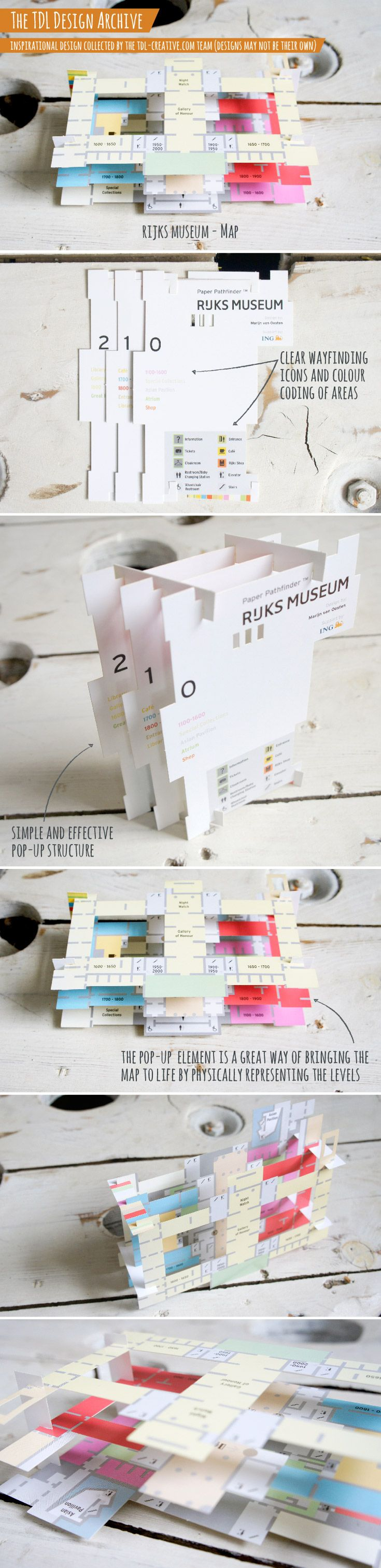 Rijks Museum, Pop-up Map