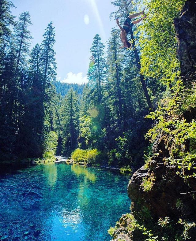 Today's Location: Blue Pool, Oregon •  Photographer: @cfewel •  The McKenzie River trail is twenty six miles long and runs from Clear Lake to McKenzie Bridge. It's world famous for Mountain Bikers, and very nice for hikers as well. This short portion of the trail takes you to the beautiful turquoise Tamolitch Pool, also known as Blue Pool.  Selected by: @Jeff_Bell_Photos •  #bluepool #nw #oregon #oregonexplored #traveloregon #cascadia #pnw #explore #nature #trail #instagram•  Remember to…