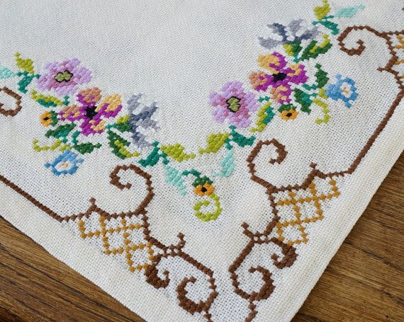 Reserved for M Swedish Cross Stitch by ScandicDiscovery on Etsy