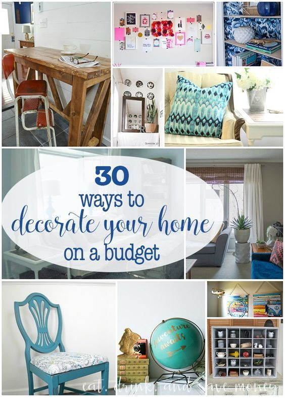 pinterest home decorating on a budget 30 ways to decorate your home on a budget frugal living 13530