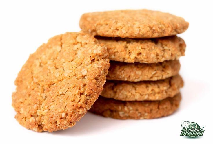"""La Cuisine de Bernard : Biscuits """"Anzac"""""""