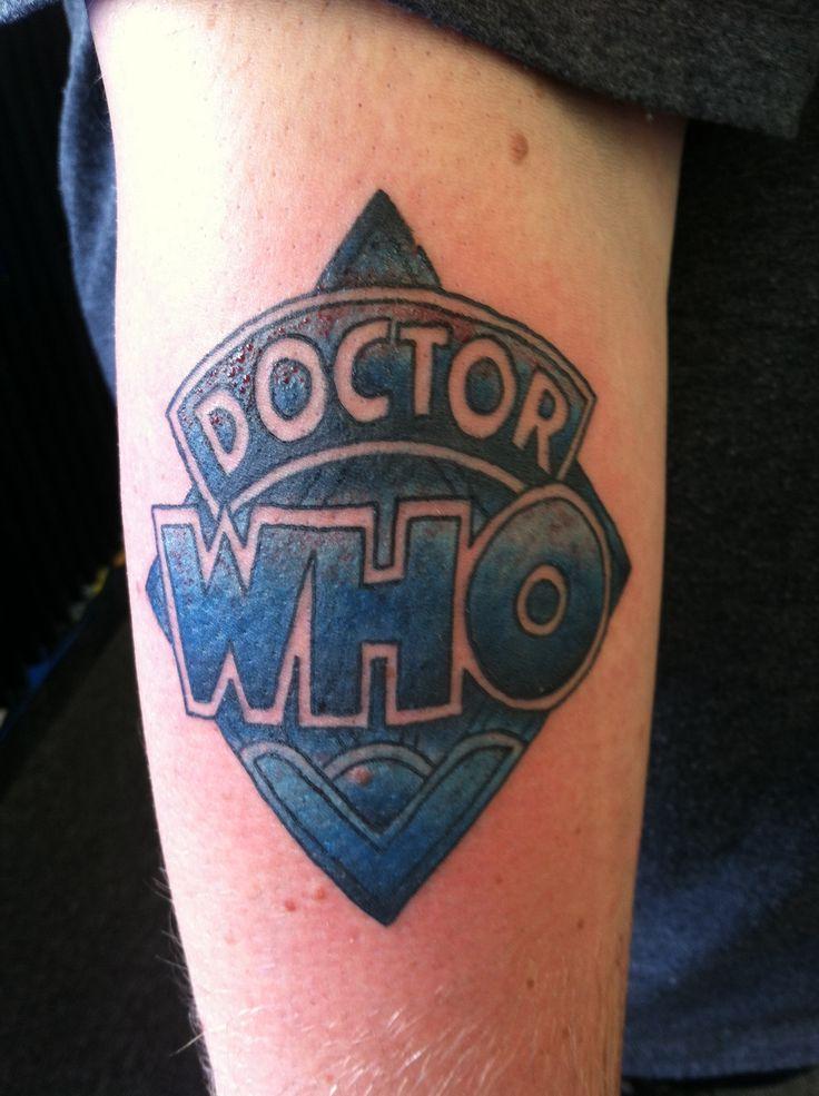 old school doctor who logo tat tattoos pinterest. Black Bedroom Furniture Sets. Home Design Ideas