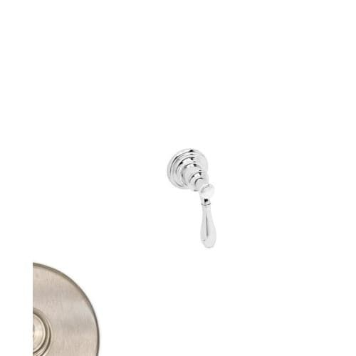 Newport Brass 3-426 Ithaca Single Handle Diverter or Flow Control Trim with Metal Lever Handle (Chrome Finish), Polished Chrome