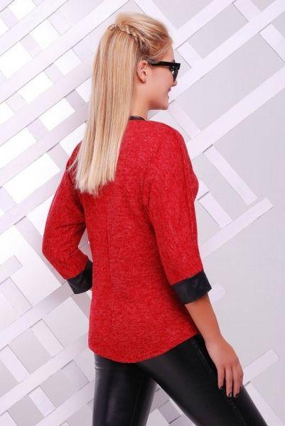 Осенние свитера и кофты красные