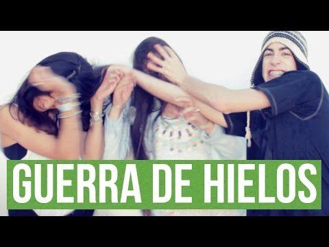 GUERRA DE HIELOS CON AMIGOS + ICE BUCKET CHALLENGE | Alejo Igoa