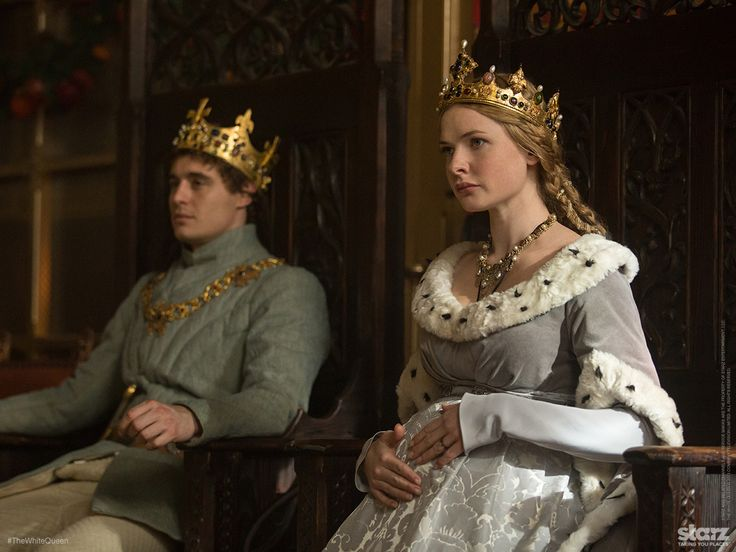 max irons as king edward iv and rebecca ferguson as elizabeth woodville the white queen tv. Black Bedroom Furniture Sets. Home Design Ideas