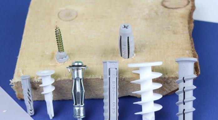 Die richtige Größe von Dübel und Schraube – mit Tabelle
