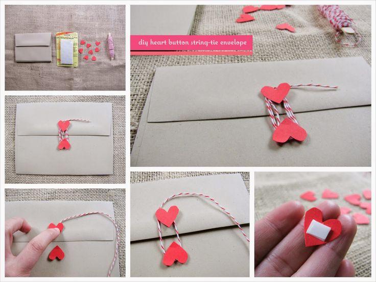Blog Tu día Con Amor: 20 Ideas y #tutoriales #DIY de sobres hechos a mano <3