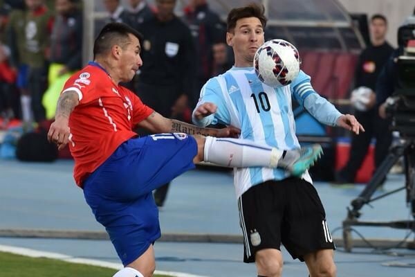 How to stop #Messi #Chile #Argentina