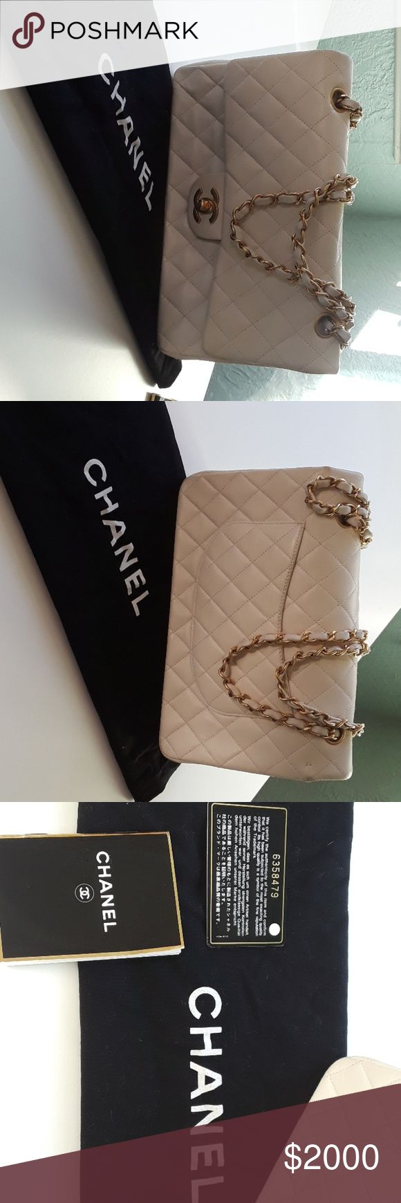 Gorgeous off white classic Chanel purse Beautiful and timeless! I'm selling this for my mom, and if I can't sell it, it's mine! I think she used it maybe 2 times at the most. Will only sell for the right price! :) Serious offers only please. CHANEL Bags Shoulder Bags