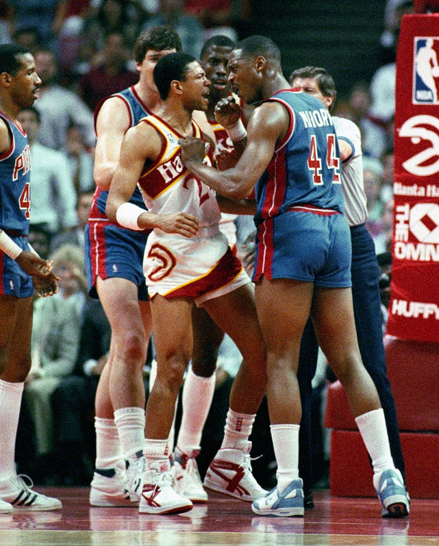 Doc Rivers & Mahorn get into it - miss the old days when players were more physical