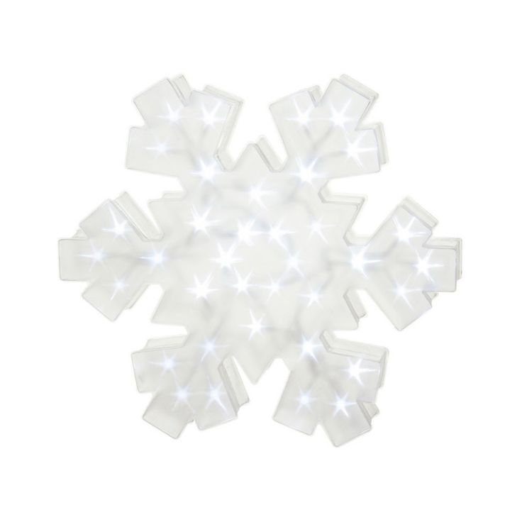 Crystal Light Snowflake | dotandbo.com