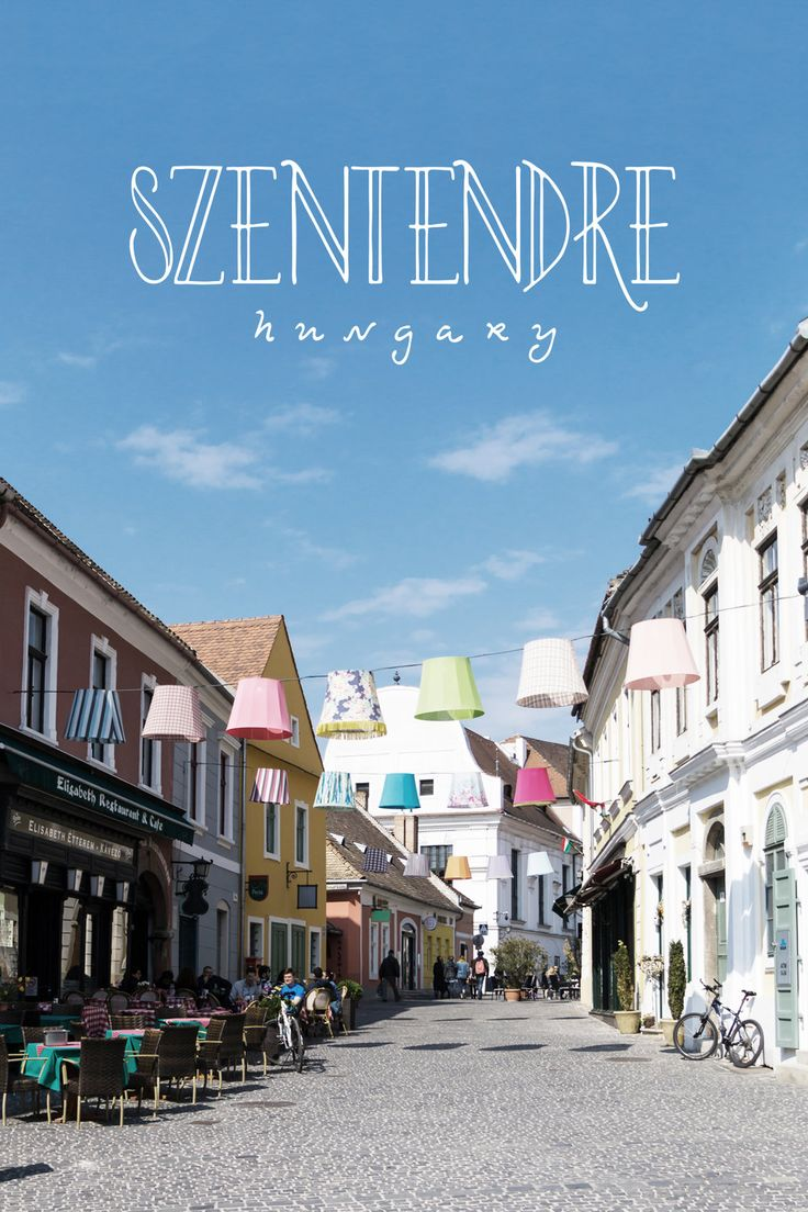 Our choice for a small town break from Budapest was charming Szentendre, or St. Andrew. The town is an easy 40-minute train ride along the Danube from Budapest's central Batthyány tér metro station. The portion of the journey within the administrative bounds of Budapest was covered by our tour