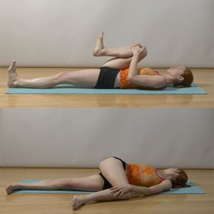 Stretches to relieve back pain and re-align spine