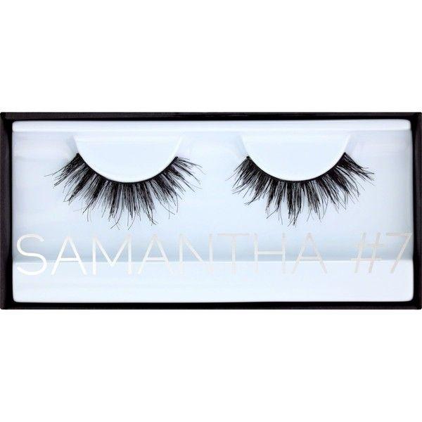 HUDA BEAUTY Huda Beauty Samantha Classic Lashes #7 ($19) ❤ liked on Polyvore featuring beauty products, makeup, eye makeup and false eyelashes