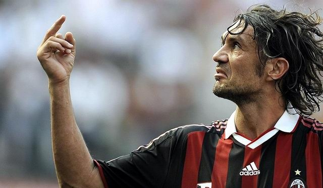 """Paolo """"il Capitano"""" Maldini"""