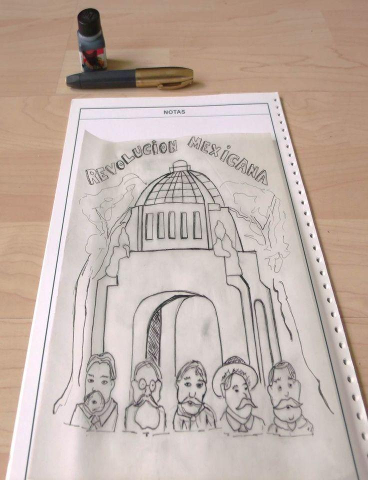 Una estupenda portada para tu trabajo sobre La Revolución con tinta Stafford