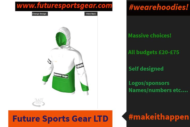 Hoodies Hoodies ..... Multioptions-All budgets From £20 to £75 #createyourown. All superb value and hard wearing!