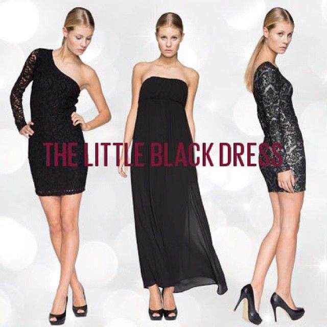We can't get enough little black dresses- check them out at ONLY.com or in your local ONLY store
