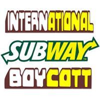 Subway halal shops in the UK are concerned for the safety of their employees. Boycott halal Subway shops and leave them to the islamists.