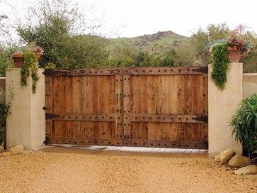 Driveway Gates eclectic garage doors
